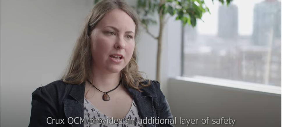 Crux OCM - Monika Wasylkiewicz, Software Engineer