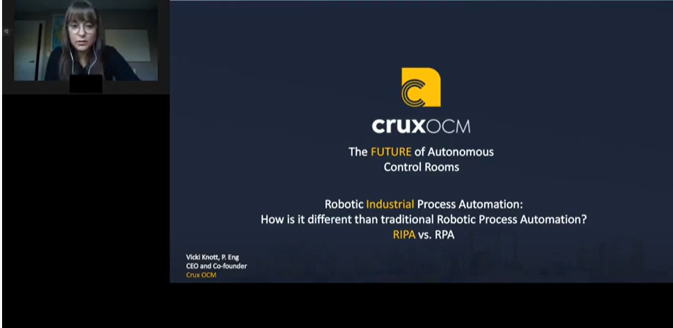 Crux OCM: RPA vs RIPA - Presentation for Intelligent Automation in Oil and Gas Conference